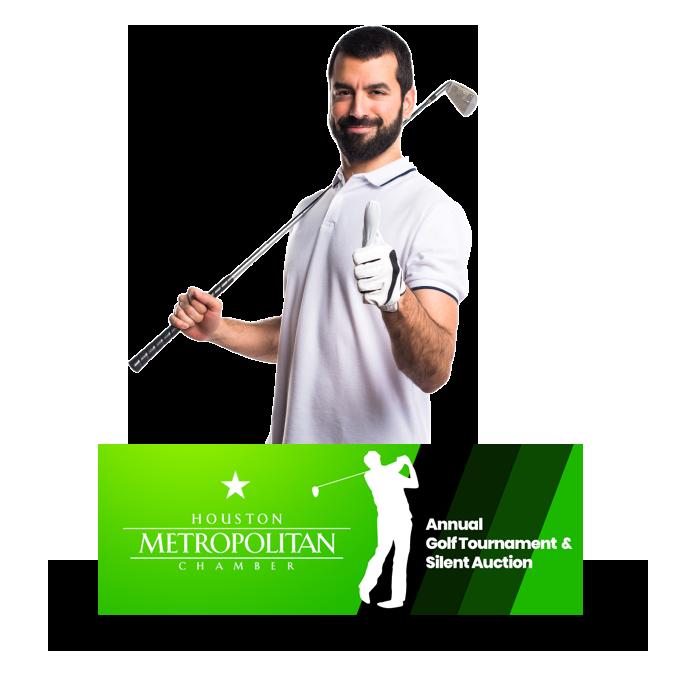Houston Metropolitan Chamber / Golf Fundraiser Website